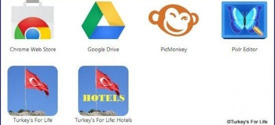 Chrome For App Turkey Hotels