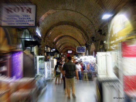 Bricked Archways, Kızlarağası Hanı, Izmir, Turkey