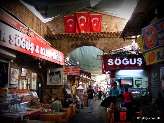 Kızlarağası Hanı, Izmir