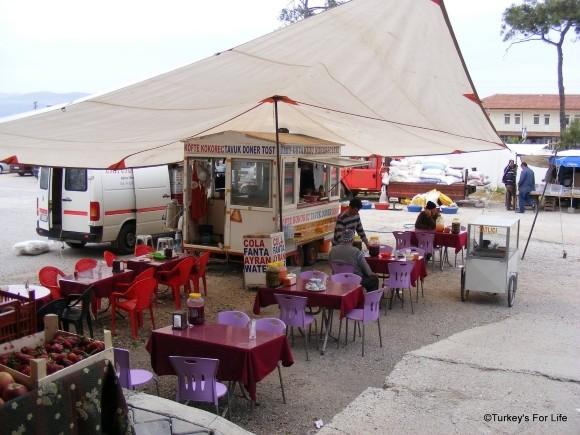 Street Food At Çiftlik Market, Fethiye
