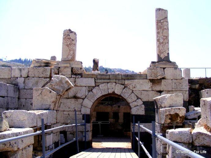 Izmir Agora Basilica Gate