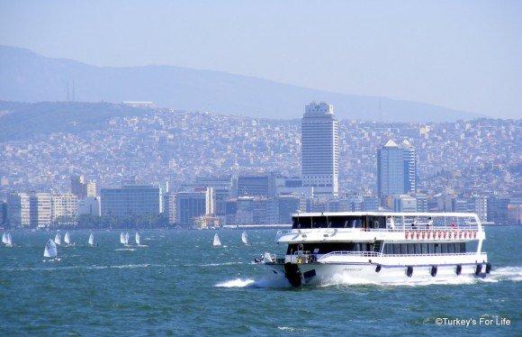 Bostanlı To Konak Ferry, Izmir
