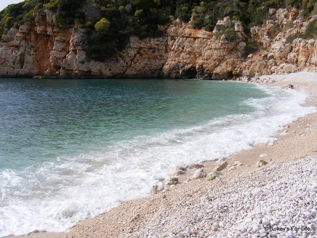 Big Pebble Beach, Kaş, Turkey