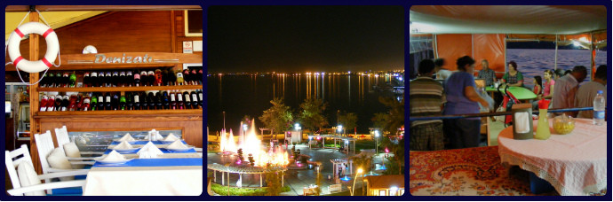 Fethiye Restaurants - Sea Views