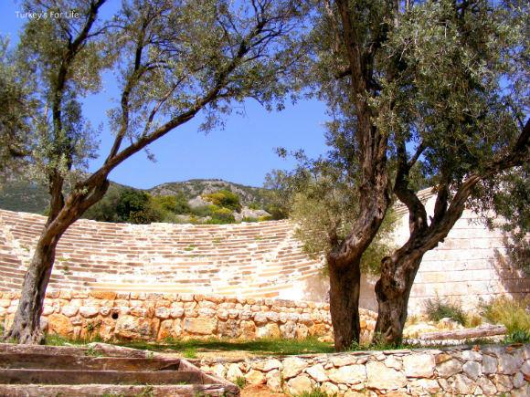 Antiphellos Ancient Theatre, Kaş