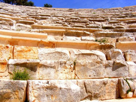 Antiphellos Ancient Theatre In Kaş