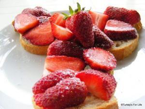 Strawberry Sandwich Recipe