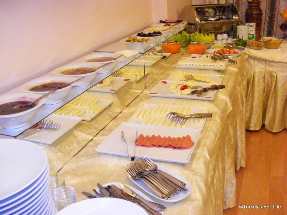 Turkish Breakfast Buffet At SRF Hotel, Eskişehir