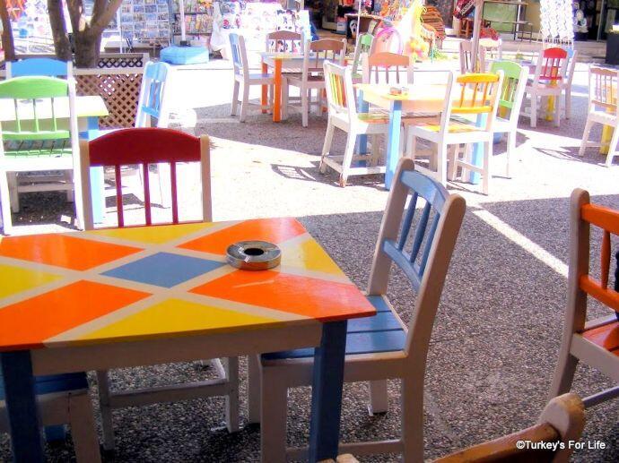 Seating At Iksirci Tezcan