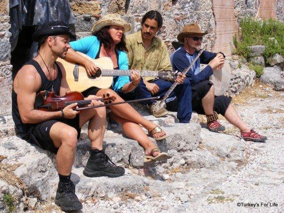 World Music In Kayaköy