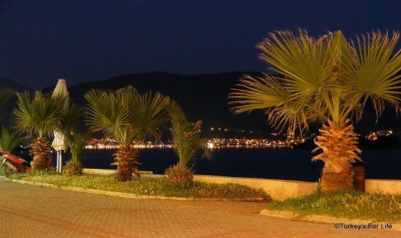 Fethiye from Çalış Beach Indian Restaurant