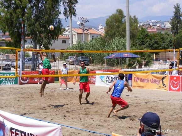 Men's Beach Volleyball Final, Çalış Beach, Fethiye