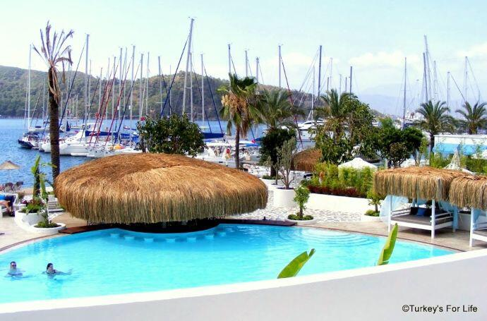 View From Yacht Classic Hotel, Fethiye