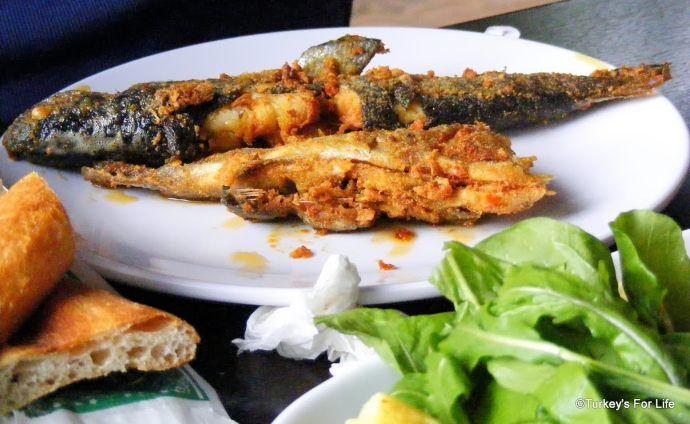 Yeşil Erciş Fried Trout