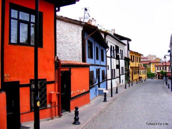 Colourful Houses of Odunpazarı, Eskişehir