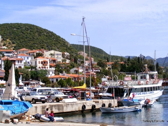 Kaş Harbour, Turkey