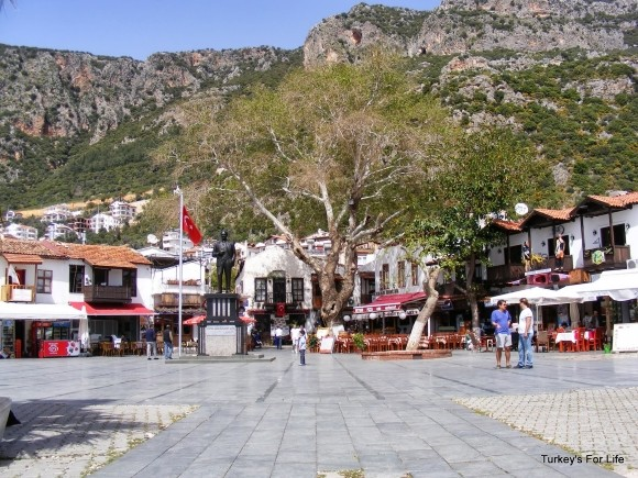 Central Square, Kaş, Turkey