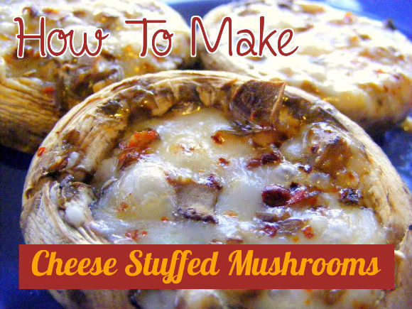 Cheese And Sausage Stuffed Mushrooms Recipe