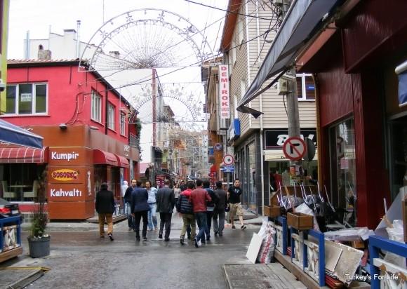 Vural Sokak from Social Pub, Eskişehir