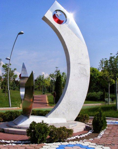 Artwork, Kent Park, Eskişehir
