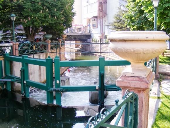 Locks On River Porsuk, Eskişehir