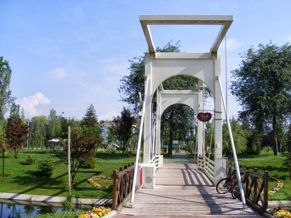 The Love Bridge, River Porsuk, Eskişehir