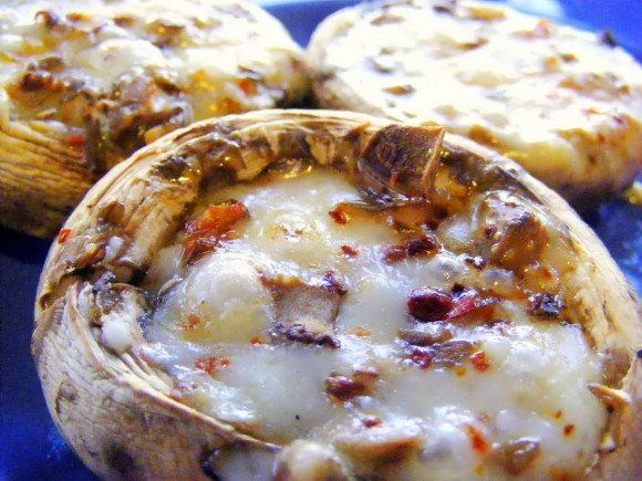Turkish Recipes - Stuffed Mushrooms or Mantar Dolması