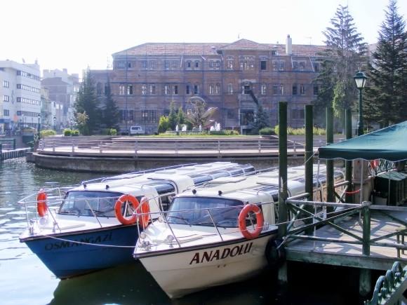 River Boats On The Porsuk, Eskişehir