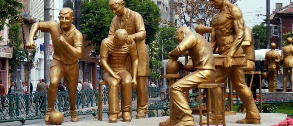 Statues In Eskişehir, Turkey