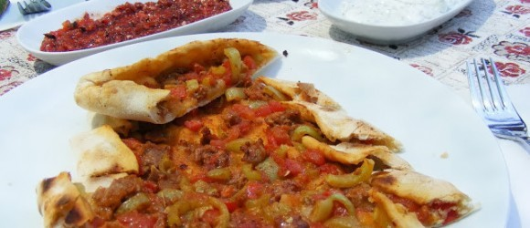 Turkish Food, Kubaili Pide
