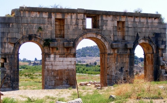 The Arch of Mettius Modestus, Patara, Turkey