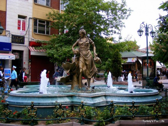 Eskişehir Statues - A Lady