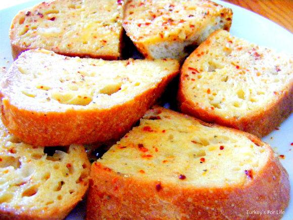 Egg-coated Bread