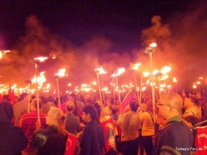 90 Years Torchlit Procession