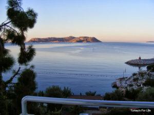 View From Gardenia Hotel, Kaş, Turkey