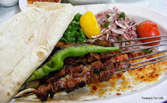 Turkish Food - Ciğer Şiş In Ankara