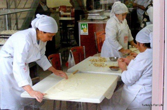 Turkish Food - Making Mantı