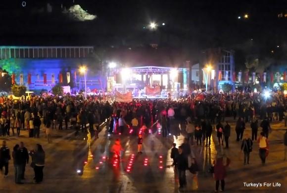 Beşkaza Meydanı, Fethiye, Republic Day 2013