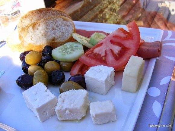 Turkish Breakfast, Gardenia Hotel, Kaş