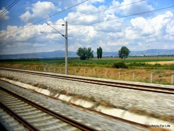 Eskişehir to Ankara By Train