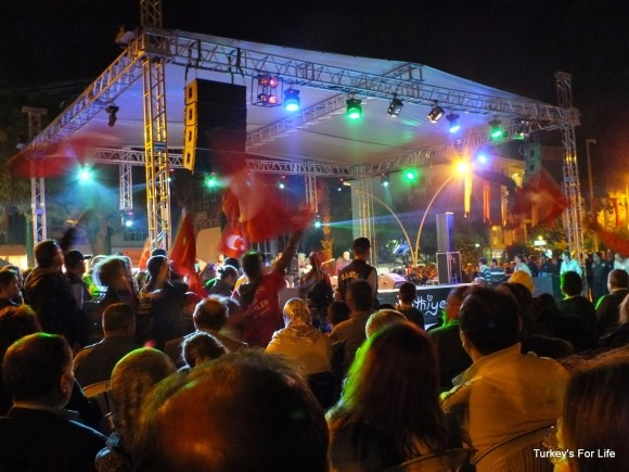 Live Music, Fethiye Town Square, Republic Day 2013