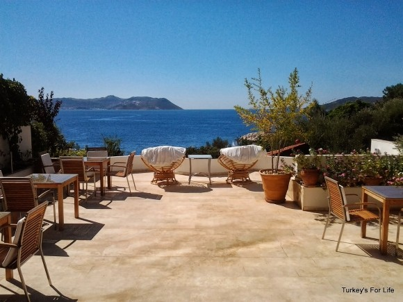 Breakfast Terrace, Gardenia Hotel, Kaş, Turkey