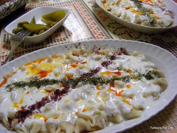 Turkish Food - Mantı In Ankara