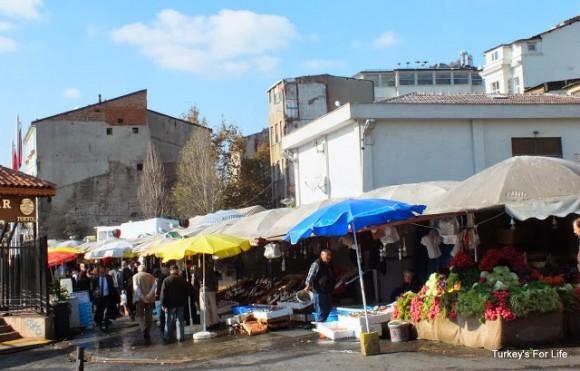 Old Karakoy Fish Market Istanbul Turkey