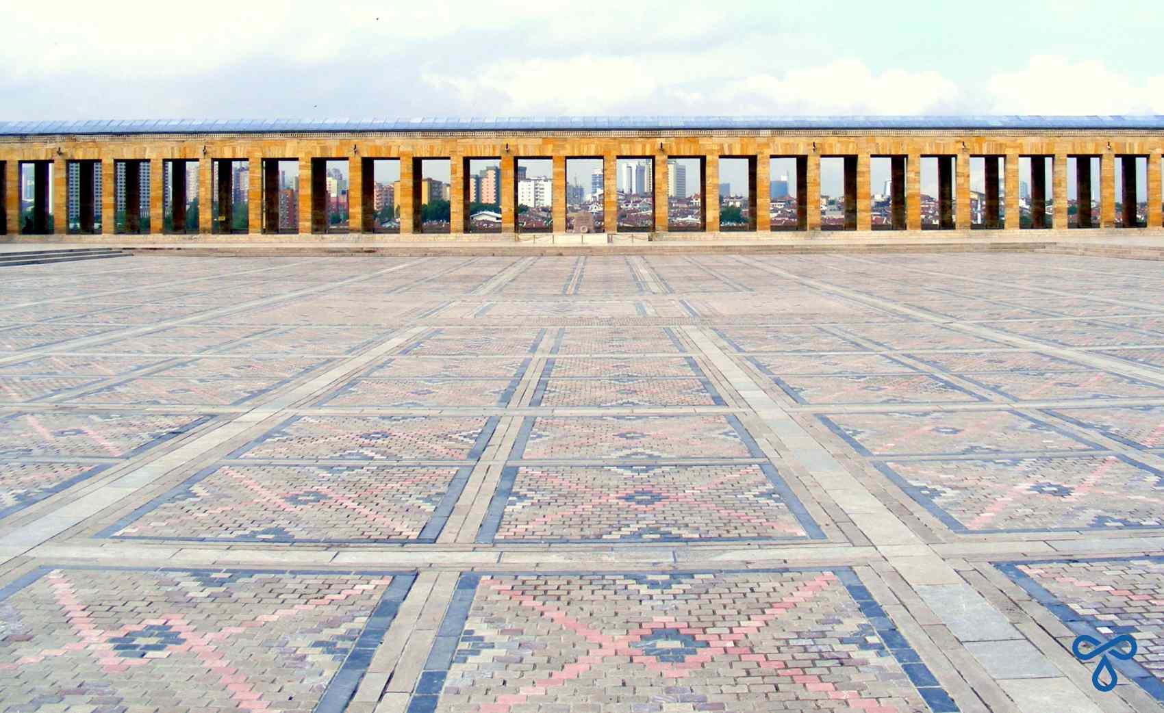 Ceremonial Courtyard, Anıtkabir, Ankara