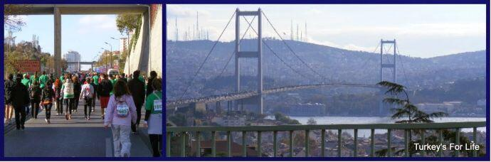 Istanbul Marathon Climb
