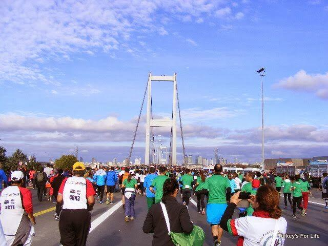 Istanbul Marathon Start