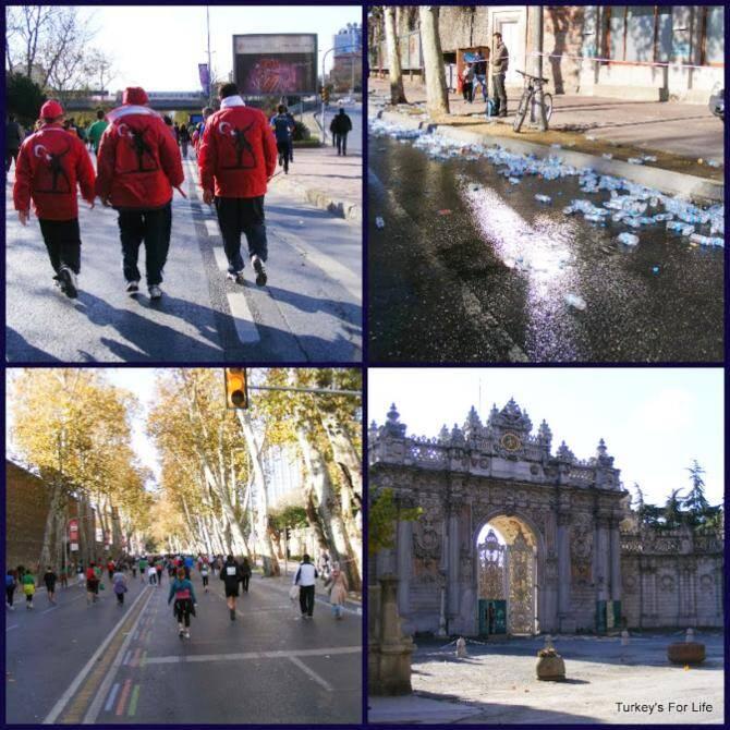 Istanbul Marathon, Dolmabahçe Palace