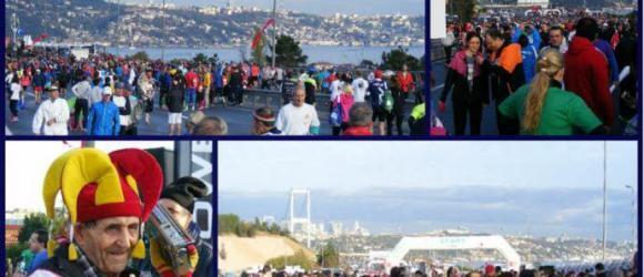 Istanbul Marathon Start Line