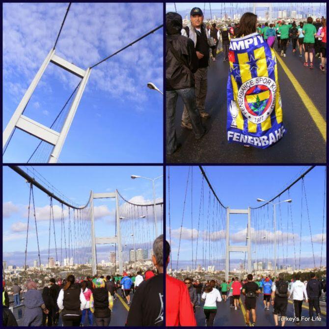 Istanbul Marathon Walkers